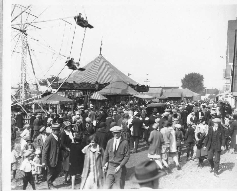 Puyallup Fair Carousel 1925
